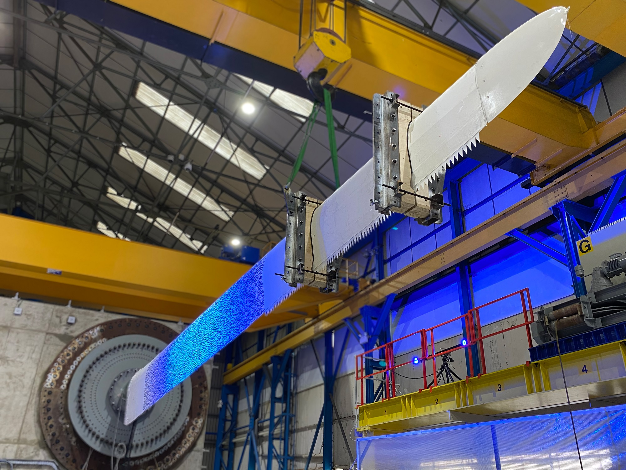 ACT Blade tests new wind turbine blade concept in Blyth