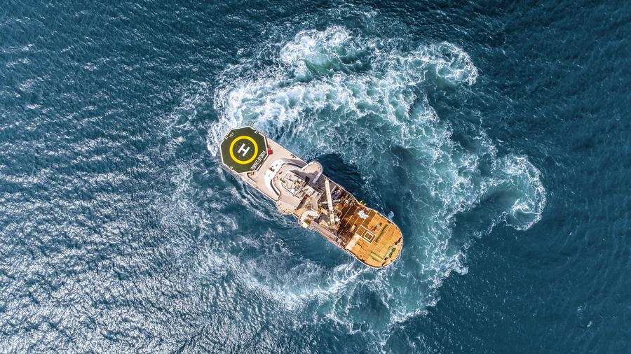 SCHOTTEL propulsion for Wind of Hope SOV