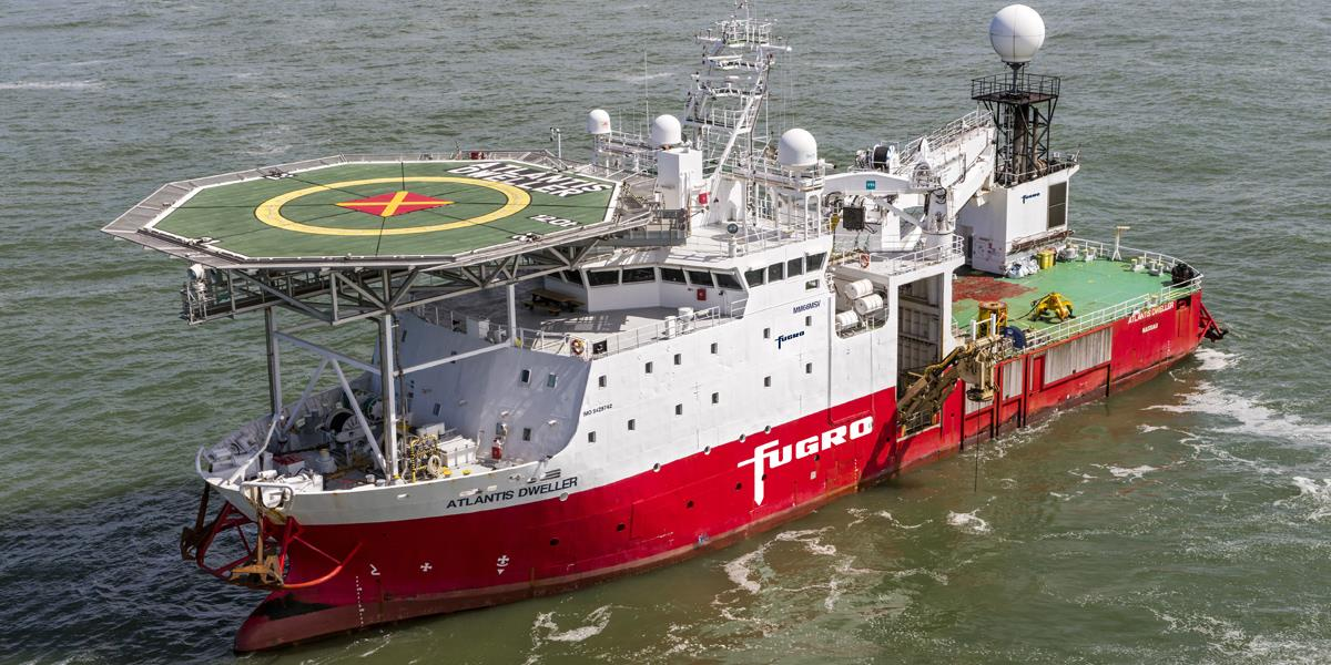 Fugro bags CrossWind contract for Hollandse Kust (noord) OWF site investigation