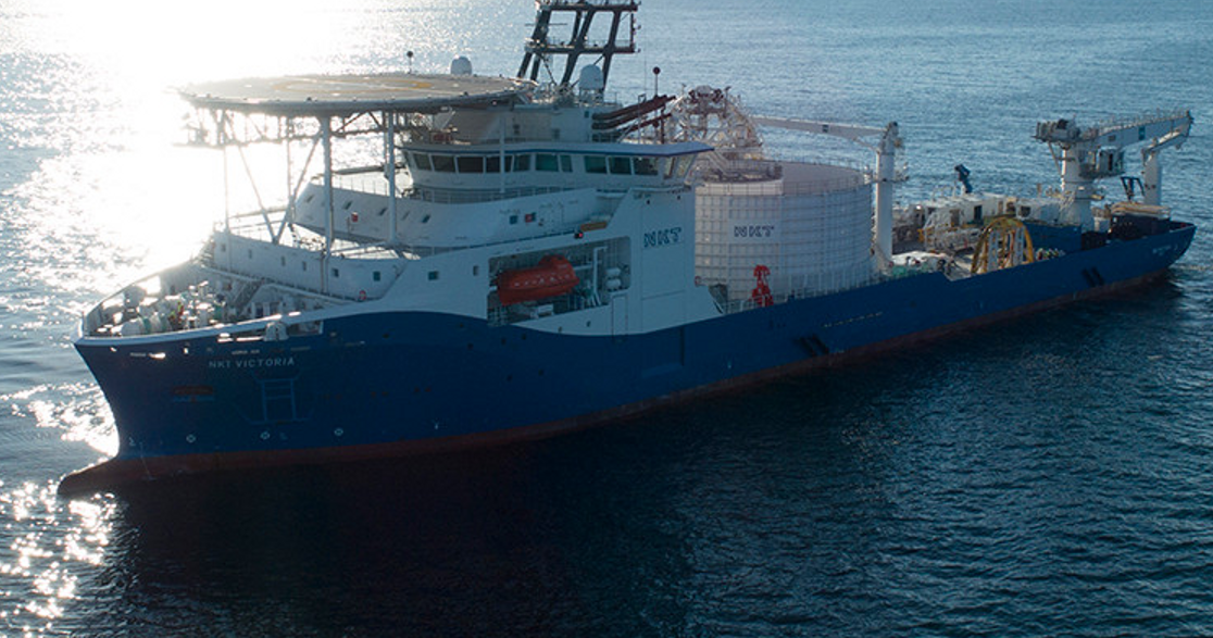 NKT high-voltage DC power cable for BorWin5 offshore wind connection