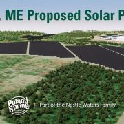 EnterSolar and Nestlé collaborate on new solar project at Poland Spring in Maine