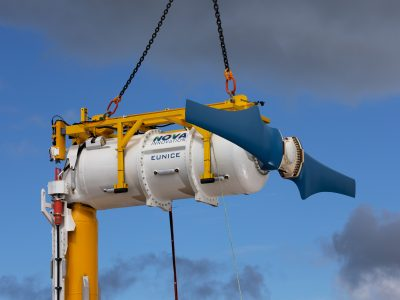 Nova Innovation expands its tidal array