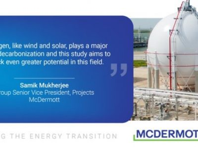 McDermott hired for liquid hydrogen storage study